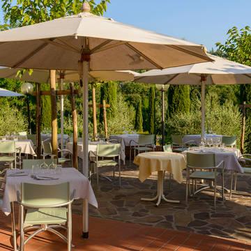 Restaurant terras Hotel Sovestro