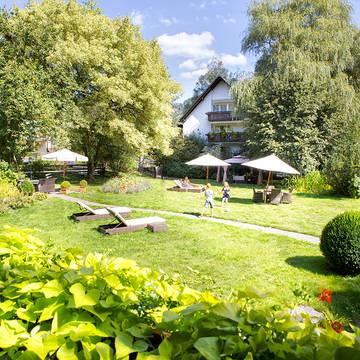 Tuin Landhotel Hirschen
