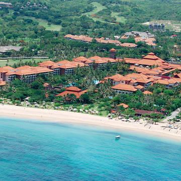 Overzicht Ayodya Resort Bali