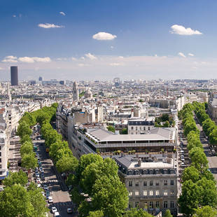 Vergezicht Parijs