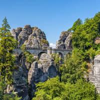 Nationale Park Sächsische Schweiz - Bastei