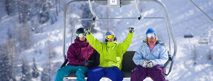 Wintersport skipas