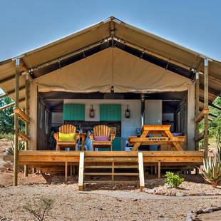 Zuid-Afrika - Oudtshoorn - Africamps Oudtshoorn