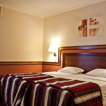 Voorbeeld slaapkamer Hotel Suave Mar