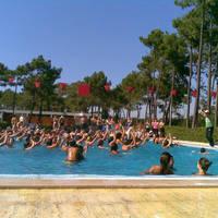 Watersport in het zwembad