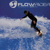 Flowrider indoor surfen