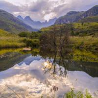Adembenemend uitzicht in de Drakensbergen
