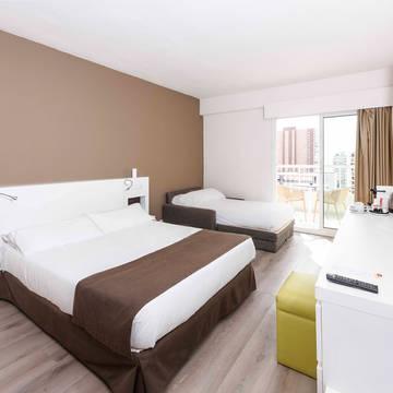 Voorbeeldkamer Hotel Sol Pelicanos Ocas