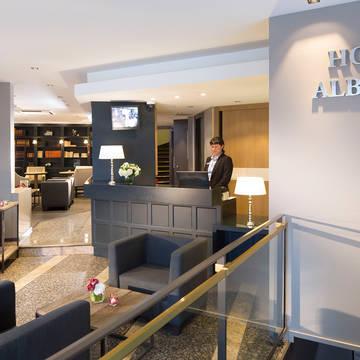 Receptie Hotel Albert 1er