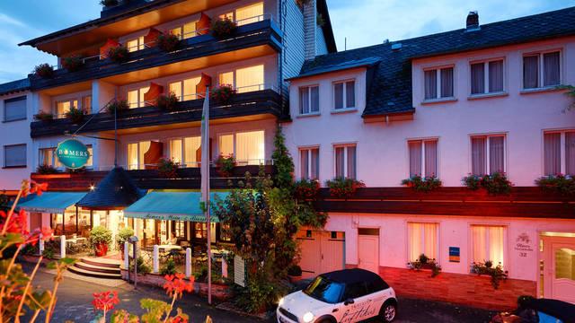 Vooraanzicht Bömers Mosellandhotel