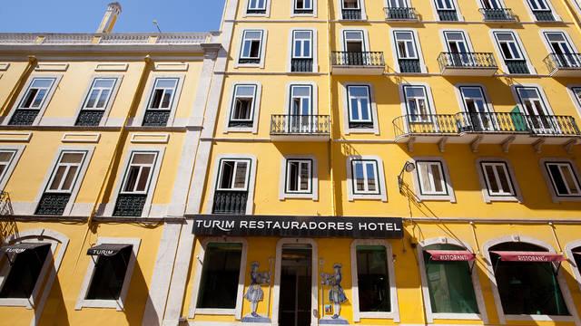 Voorzijde Turim Restauradores Hotel