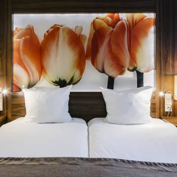 Voorbeeld 2/3-persoonskamer Eden Hotel Amsterdam