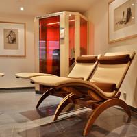 Wellness - relaxruimte en infraroodcabine