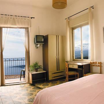 Voorbeeldkamer met zeezicht Hotel Elios