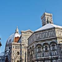 Florence dom met sneeuw