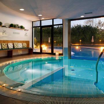 Overdekt zwembad Villa Pace Park Hotel Bolognese