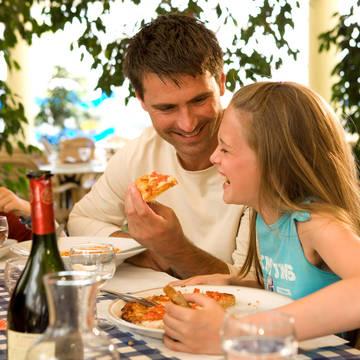 In het restaurant Vakantiepark Sunparks Oostduinkerke aan Zee