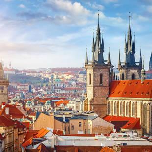 Oude centrum van Praag, op ca. 15 minuten loopafstand van het hotel!