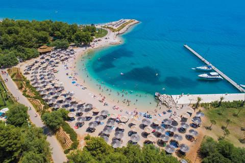 Korting camping vakantie Dalmatië 🏕️Camping Solaris en Villa's Kornati