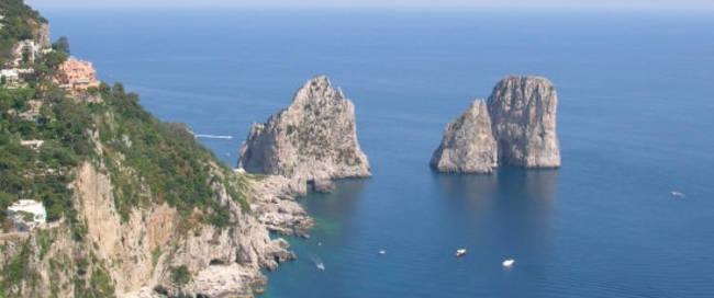 Capri rotsen