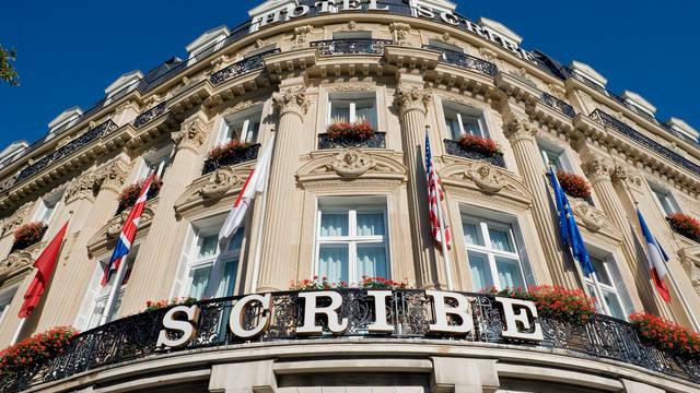Exterieur Hotel Sofitel Le Scribe Paris Opéra