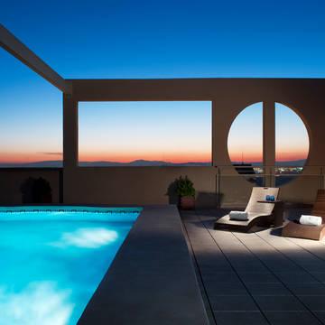 Zwembad Hotel Eurostars Gran Valencia