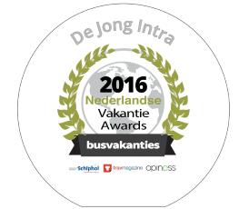 Winnaar Vakantie Awards categorie Busvakanties