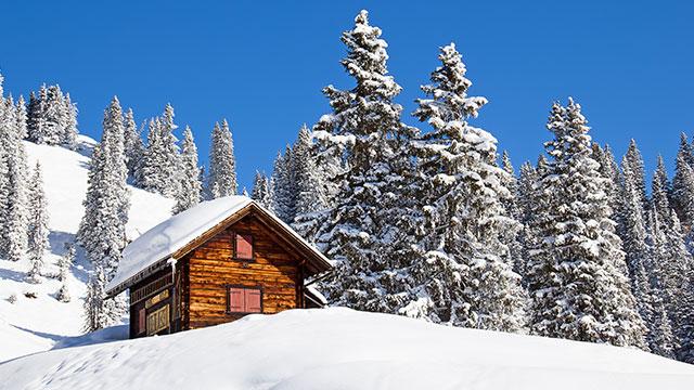 Controleer uw skigebied
